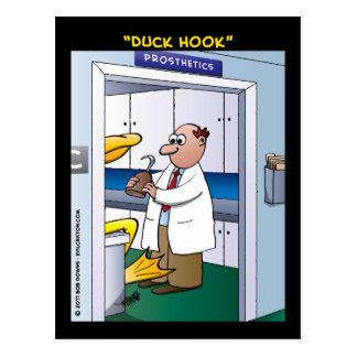 """""""Duck Hook"""" Postcard"""