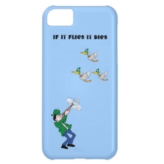 Duck Hunter Shooting Shotgun iPhone 5C Case
