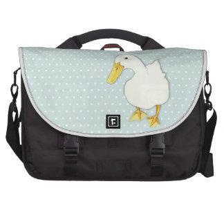 Duck Kiss dots Commuter Laptop Bag