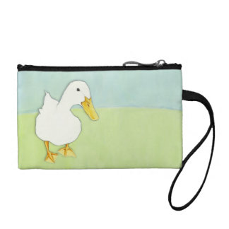 Duck Kiss Key Coin Clutch Bag Coin Purses