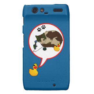 "Duck Lovers, ""Duckie Says!"" Motorola Droid RAZR Cover"