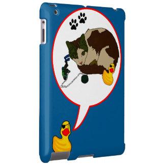 "Duck Lovers, ""Duckie Says!"" iPad Case"