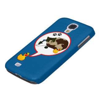 "Duck Lovers, ""Duckie Says!"" Galaxy S4 Case"