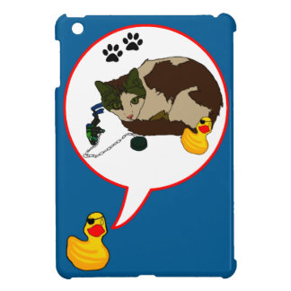 "Duck Lovers, ""Duckie Says!"" iPad Mini Covers"