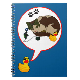 """Duck Lovers, """"Duckie Says!"""" Notebook"""