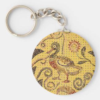DUCK - Mosaic Basic Round Button Key Ring
