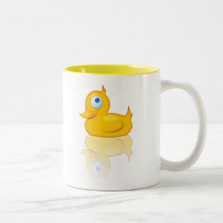 Duck Mug! Two-Tone Mug