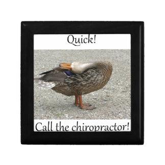 Duck Needs Chiropractor Gift Boxes