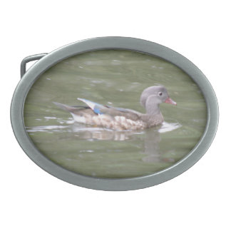 Duck on the Lake Belt Buckle
