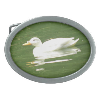 Duck on the Water Belt Buckle