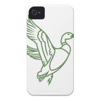 Duck Outline iPhone 4 Case-Mate Cases