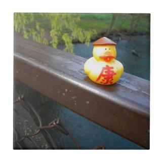 Duck Rail Small Square Tile