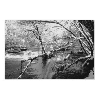 Duck River at Old Stone Fort Poster