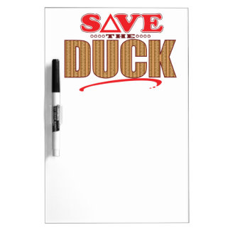 Duck Save Dry Erase Board