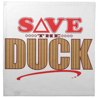 Duck Save Napkin