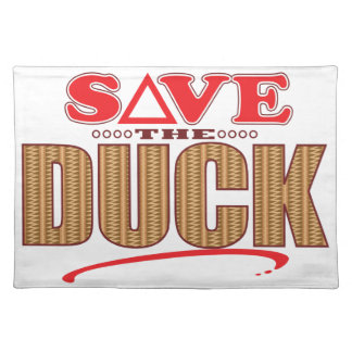 Duck Save Placemat