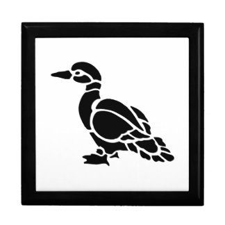 Duck Silhouette Gift Box