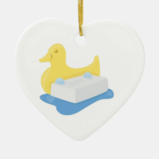 Duck & Soap Christmas Ornament