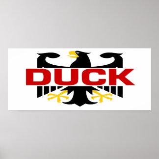 Duck Surname Print