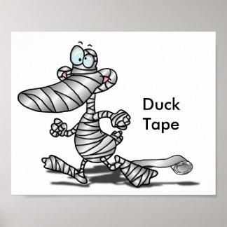 Duck Tape Print
