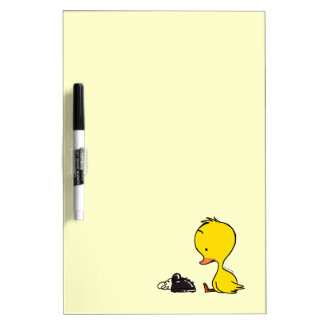 Duck & telephone dry erase board