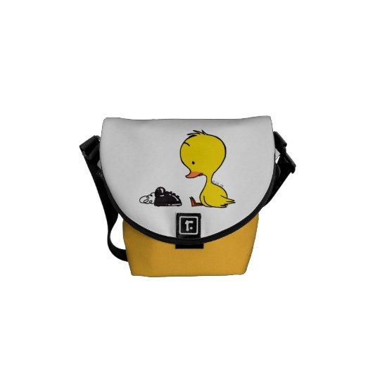 Duck & telephone messenger bag