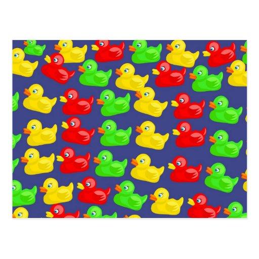 Duck Wallpaper Post Card