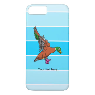 Duck Wearing Wellington Boots iPhone 7 Plus Case