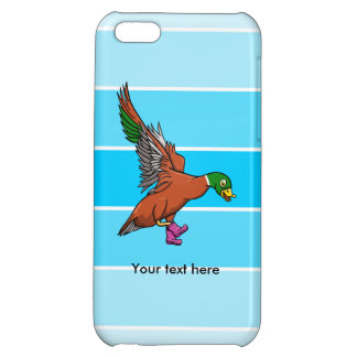 Duck With Boots On Illustration iPhone 5C Covers