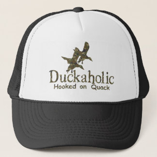 DUCKAHOLIC TRUCKER HAT