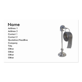 DuckDuctTapeHolder073110, Name, Address 1, Addr... Double-Sided Standard Business Cards (Pack Of 100)