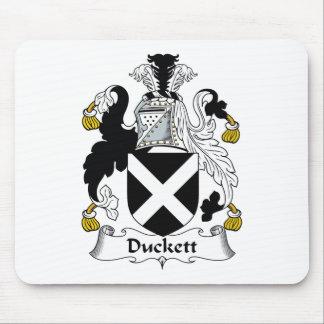 Duckett Family Crest Mouse Mat