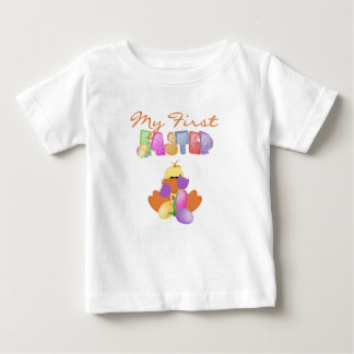 Duckie and Tulips First Easter Tshirt