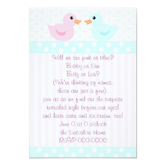Duckies of Pink and Blue Card