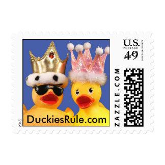 Duckies Rule! Stamp (Small Horizontal)