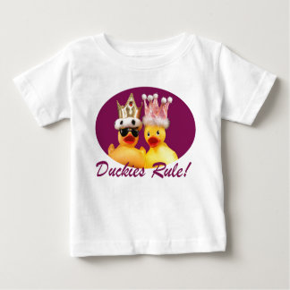 Duckies Rule! T-Shirt (All Sizes, White Only)