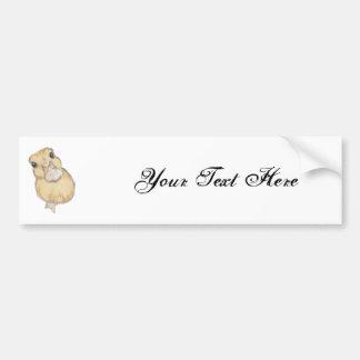 Duckling Bumper Sticker