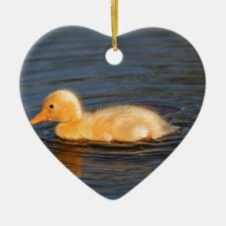 Duckling Christmas Ornament