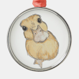 Duckling Christmas Ornament
