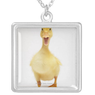 Duckling Silver Plated Necklace