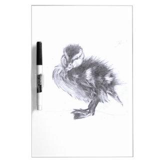 Duckling Sketch Dry Erase Board