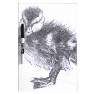 Duckling Sketch Dry-Erase Board