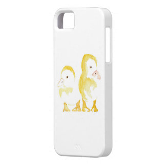 Ducklings Watercolour Barely There iPhone 5 Case
