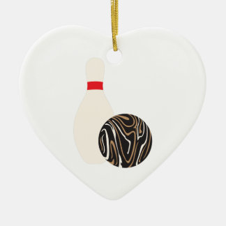 Duckpin Bowling Ball Christmas Ornament