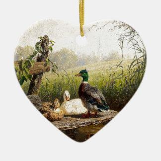 Ducks Birds Wildlife Animals Pond Ornament