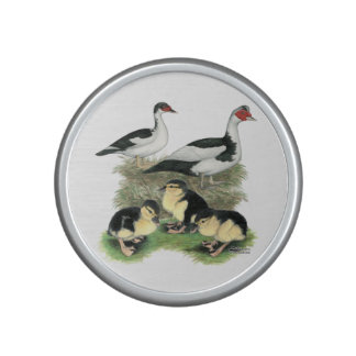 Ducks Black Pied Muscovy Family Bluetooth Speaker