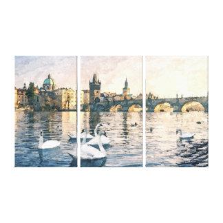 ducks canvas prints