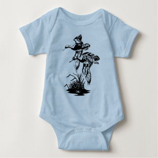 DUCKS FLYING BABY BODYSUIT