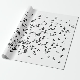 Ducks in Flight - Duck Hunting Art Wrapping Paper
