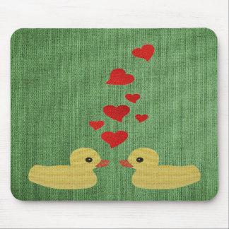Ducks In Love Mousepad